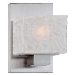 Quoizel Lighting - Melody Bath Fixture - Bath fixture 1 lgt Brushed Nickel