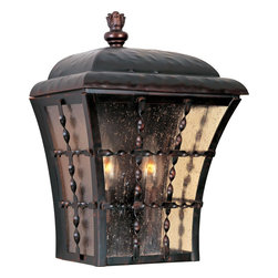Maxim Lighting - Maxim Lighting 30494ASOI Orleans 2 Light Outdoor Wall Sconce - Lighting your life since 1970, Maxim Lighting is committed to offering you outstanding quality and satisfaction.