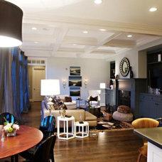Contemporary Dining Room by Heather Garrett Design