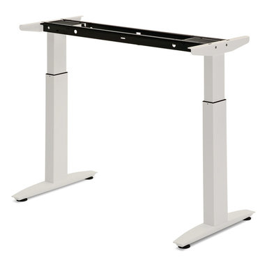 Electrically Driven Adjustable Table Legs - TLEL3 - Electric table legs allow for easy height adjustment on command with the press of a button. Turn a desk into a standing workstation, or create a comfortable height setting for training tables or workstations with multiple users.