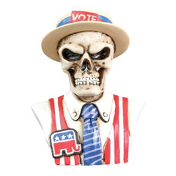 Summit - Republican - Collectible Figurine Statue Sculpture Figure Skeleton - This gorgeous Republican - Collectible Figurine Statue Sculpture Figure Skeleton has the finest details and highest quality you will find anywhere! Republican - Collectible Figurine Statue Sculpture Figure Skeleton is truly remarkable.
