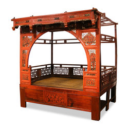 China Furniture And Arts Antique Ceremonial Canopy Bed