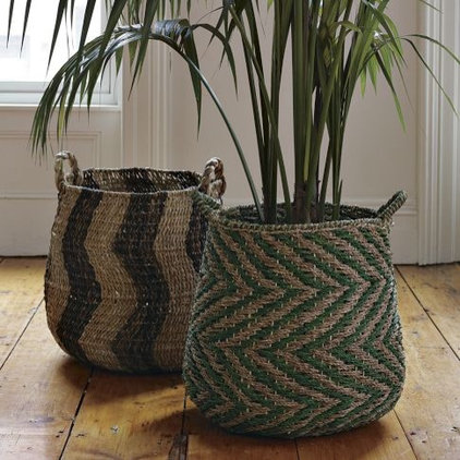 Eclectic Baskets by West Elm