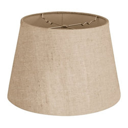 """Royal Designs, Inc"" - Empire Hardback Lampshade - ""This Empire Hardback Lampshade - Linen Belgium 11 x 18 x 13.5 is a part of Royal Designs, Inc. Timeless Hardback Lampshade Collection and is perfect for anyone who is looking for a simple yet stunning lampshade. Royal Designs has been in the lampshade business since 1993 with their multiple shade lines that exemplify handcrafted quality and value."