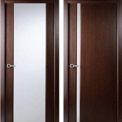 Grand 202 & Grand 208 Wenge Interior Doors - Modern Interior Doors / Contemporary Interior Doors