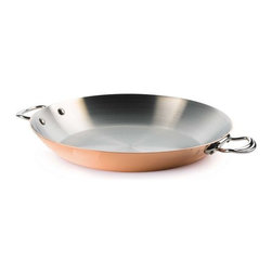 Mauviel - Mauviel M'Heritage Round Pan, Cast Stainless Steel Handle, 3.6qt. - Bilaminated copper stainless steel (90% copper and 10% 18/10 stainless steel)