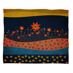 DENY Designs - DENY Designs Viviana Gonzalez Spring Energy Fleece Throw Blanket - This DENY fleece throw blanket may be the softest blanket ever! And we're not being overly dramatic here. In addition to being incredibly snuggly with it's plush fleece material, it's maching washable with no image fading. Plus, it comes in three different sizes: 80x60 (big enough for two), 60x50 (the fan favorite) and the 40x30. With all of these great features, we've found the perfect fleece blanket and an original gift! Full color front with white back. Custom printed in the USA for every order.