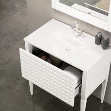 Eclectic Bathroom Vanities And Sink Consoles by Macral Design Corp.