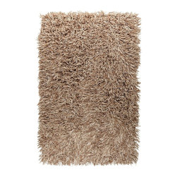 Surya - Plush Longfellow 2'x3' Rectangle Winter White-Sand Area Rug - The Longfellow area rug Collection offers an affordable assortment of Plush stylings. Longfellow features a blend of natural Winter White-Sand color. Handmade of 100% New Zealand Felted Wool the Longfellow Collection is an intriguing compliment to any decor.