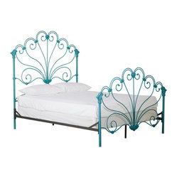 Peacock Bed - New Product - Summer 2013