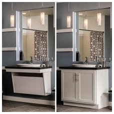 Bathroom Vanities And Sink Consoles by MasterBrand Cabinets, Inc.