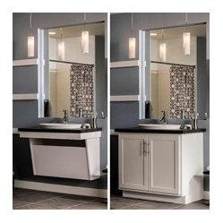 Bathroom storage vanities find sink consoles washstands and double vanities online - Accessible sink base ...