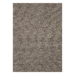 Loloi Rugs - Loloi Rugs CLEOCO-01SN003656 Cleo Stone Hand Tufted Shag Rug - The Cleo Shag Collection is an easy-to-love contemporary shag in up-to-the-minute, bright colorscapes. The rich shag texture comes from 100% polyester, which is available in trend-right colors that make smart sense for today's interiors and upholstery.
