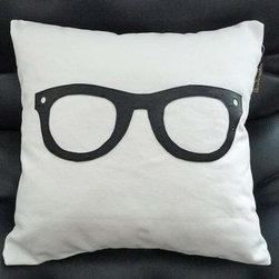 Geek Pillow - For something fun on your couch, here's a geek-chic pillow. Definitely something for the a college dorm, or for the young at heart.