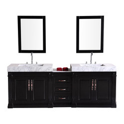 Double Sink Vanity Set