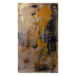 Lesli Marshall Mixed Media Artist - 'Shine Past Them' Original Painting by Lesli Marshall - 36 x 60