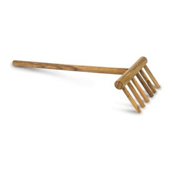 "Berard - Berard Handcrafted Spaghetti Rake Olive Wood, Set of 2 Pieces - Berard Traditionally olive wood articles have been produced using only the central portion or 30% of the tree trunk. The""Contour"" range has been created by Berard in order to use a greater portion of the olive tree. The advantage is not only ecological, by using more of the wood, but it also provides at a reasonable price an even stronger product with very beautiful unique grain patterns. Simply hand wash and rinse the pieces in warm water and leave to dry in a vertical position"" do not soak."