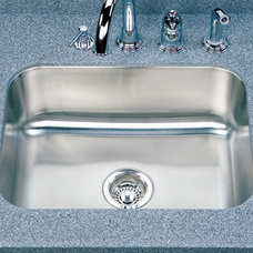 Contemporary Kitchen Sinks by Quality Bath