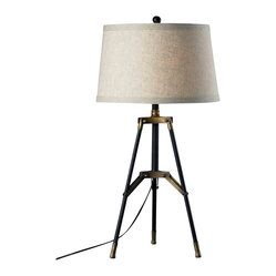 Dimond HGTV Home Restoration Black Table Lamp