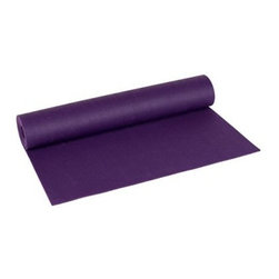 Jade Purple Fusion Yoga Mat - Use at home or in classPurple color combines stability and energyUnmatched compression-set resistanceNo slipping, even when wet with perspirationGreat for all kinds of exerciseJade Yoga plants a tree for every mat soldNo PVC, heavy metals or ozone-depleting substancesMade in the USAComplies with environmental and labor lawsAll components approved by FDAApproved for use even in continuous contact with food99% latex free; might include trace amounts of latexCare Instructions:Wipe porous surface with damp cloth (water only). For occasional deep cleaning, hand wash with mild soap and warm water; rinse thoroughly; hang or lay flat to dry (out of direct sunlight). Do not use oils, solvents or harsh abrasives.Sizes:68L x 24W x .312H inches74L x 24W x .312H inchesAbout Jade YogaJade Yoga mats were born when a yogi requested manufacture of a new style of yoga mat from Jade Industries, Inc., a company that had been making non-slip natural rubber rug pads since the 1970s. Most yoga mats at that time were too slippery. Natural rubber grips better than synthetic mats and offers natural resilience and cushion, and the rubber is tapped from rubber trees, a renewable resource. The company has made a commitment to keep production green, and through a partnership with Trees for the Future plants a tree for every mat sold. The company also contributes to a wide variety of environmental and social causes aimed at promoting a healthy earth and a healthy lifestyle across the country. Read more about Jade Yoga at www.jadeyoga.com.Please note this product does not ship to Pennsylvania.