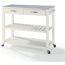 Contemporary Kitchen Islands And Kitchen Carts by Pot Racks Plus
