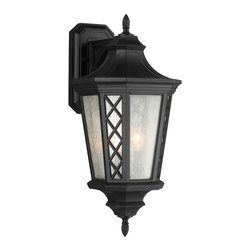 Murray Feiss - Murray Feiss OL9506TXB Wembley Park 3 Bulb Textured Black Outdoor Lantern - Murray Feiss OL9506TXB Wembley Park 3 Bulb Textured Black Outdoor Lantern