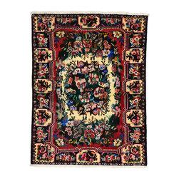 eSaleRugs - 3' 9 x 5' Tribal Bakhtiar Persian Rug - SKU: 110908979 - Hand Knotted Tribal Bakhtiar rug. Made of 100% Wool. 20-25 Years.