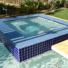Eclectic Pool by Shasta Pools and Spas