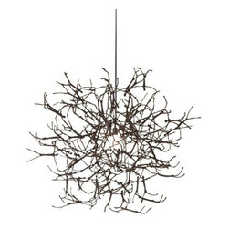Hive - Hive | Little People Large Round Chandelier - Design by Kenneth Cobonpue.