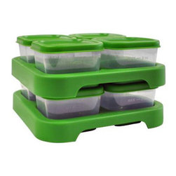 Green Sprouts - Green Sprouts Food Storage Cubes , 8 Pack - The next time you whip up a big batch of baby food, don't worry about it going to waste. The Green Sprouts Food Storage Cubes will help you easily freeze the leftovers, so that it will be delicious when your baby is ready to eat.