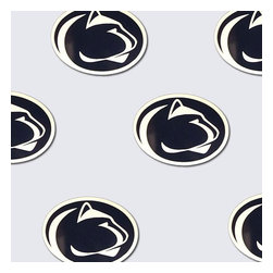 Trademarx Wall Decor - NCAA Penn State Nittany Lions Logo Double Wallpaper Roll - FEATURES: