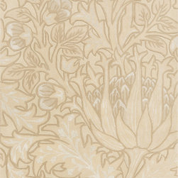 Surya - Surya William Morris WLM-3002 (Off white, Beige) 8' x 11' Rug - This Hand Tufted rug would make a great addition to any room in the house. The plush feel and durability of this rug will make it a must for your home. Free Shipping - Quick Delivery - Satisfaction Guaranteed