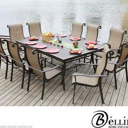 Bellini Angrove 11-piece Dining Set A25411 - Bellini Angrove 11-piece Dining Set A25411