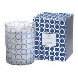 Zodax - Zodax Barclay Butera Emerald Bay Scented Candle Jar (Set of 2) - Zodax - Candle Holders / Lanterns - BAR439S - Barclay Butera Scented Candle Jar