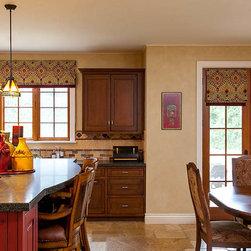 Kitchen Window coverings - www.macdonaldphoto.com