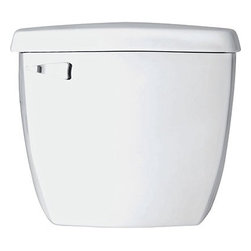 Saniflo - Saniflo 005 Insulated Toilet Tank Only with Fill and Flush Valves White - The Saniflo insulated tank complete with fill and flush valves connects to either the round front or elongated bowl. Add the Saniflo pump and you'll have a complete flushing system that is easy to install.