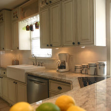 Traditional Kitchen Sinks by Granite Countertops by Mogastone