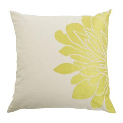Gemini Pillow, Set of 2, Citron