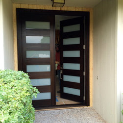 Contemporary Entry Doors - Carmel California - Chase Ford