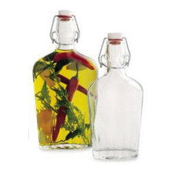 Hermetic Glass Flasks - If you prefer a more homemade gift for the avid cook, pick up a few of these glass flasks a few days early, fill them with good quality olive oil and fresh herbs, and let the herbs infuse the oil for a few days before giving them as gifts.