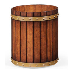 Jonathan Charles - New Jonathan Charles Rubbish Bin Walnut - Product Details
