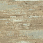 Brushed Wood Wallpaper, Tuscan, Double Roll - Brushed wood wallpaper is the perfect narrative to weathered drift wood. The fresh color hues and soft pastels would complement the brushed wood pattern, giving your walls a beautifully contemporary look.