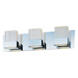 """ET2 - ET2 E22733-89 Fizz 22"""" Wide 3-Bulb Bathroom Light Fixture - Product Features:"""