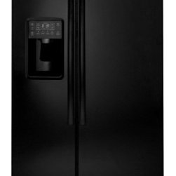 "GE Profile - PSE26KGEBB 36"" Energy Star 25.9 Cu. Ft. Side-by-Side Refrigerator With Dispenser - This item is for a profile series 36 energy star 259 Cu Ft side-by-side refrigerator This refrigerator features angled ALL LED lighting in fresh food and freezer which illuminates every inch of the fresh food and freezer compartments fresh food multi..."