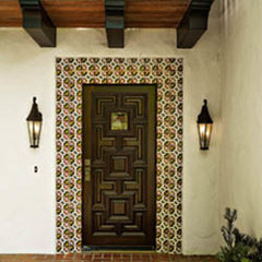 mediterranean entry by MORE design+build