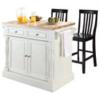 denver white modern kitchen cart with butcher block top modern