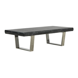 Bateau Grey Cocktail Table - Living Spaces