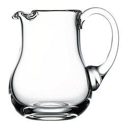 Hospitality Glass - 5.5H X 3.75T 16.75 oz Handmade Pitcher 6 Ct - 16.75 oz Handmade Pitcher