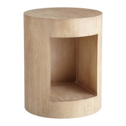 Beacon End Table, Driftwood