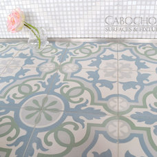 Traditional Floor Tiles by Cabochon Surfaces & Fixtures